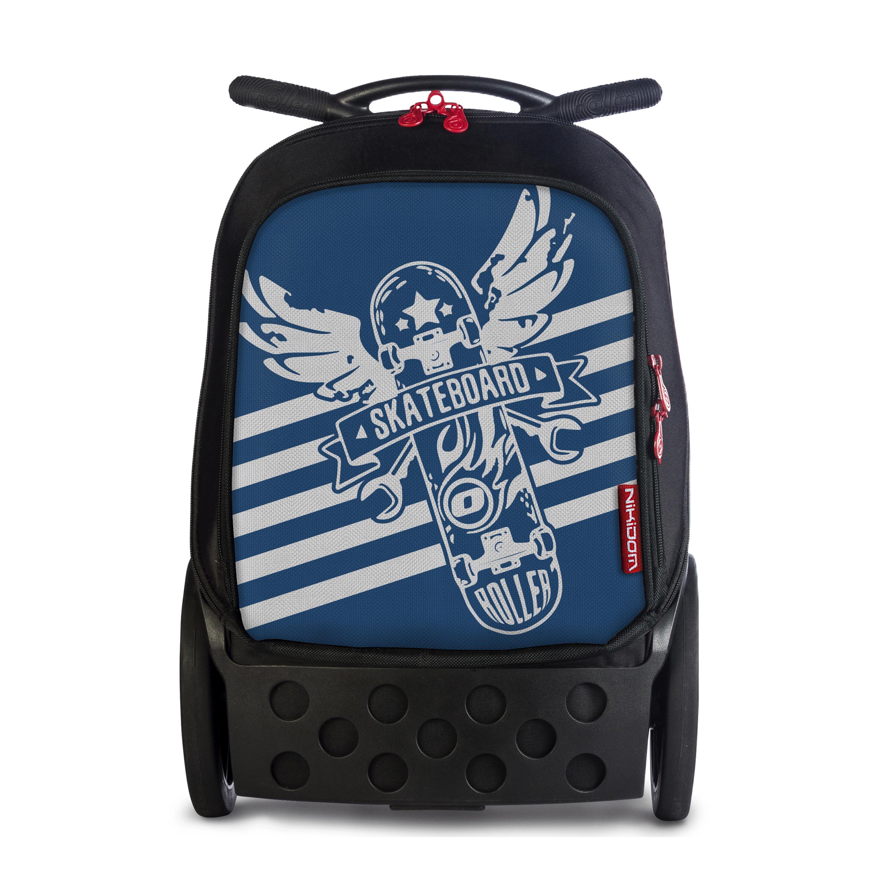 b49117200c Školská taška na kolieskach Nikidom Roller Skate